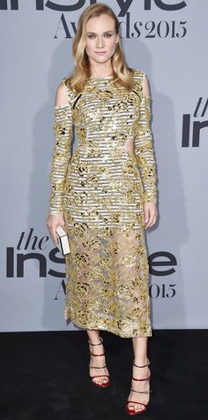 See the Stars on the 2015 InStyle Awards Red Carpet - Diane Kruger - from InStyle.com