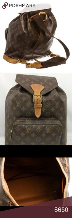 Louis Vuitton backpack Louis Vuitton backpack, great condition, well taken care of! Louis Vuitton Backpack, Fashion Tips, Fashion Design, Fashion Trends, Louis Vuitton Monogram, Backpacks, Handbags, Best Deals, Womens Fashion