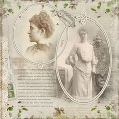 Family Heritage Scrapbook Layout example ...beautiful