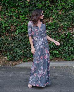 Lana Floral Maxi Dress