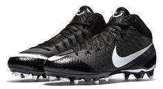 Nike CJ3 Pro TD Men's Football Cleat  SIZE 10.5 Black White 723976