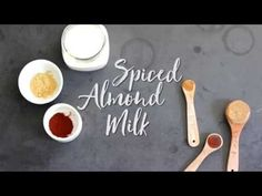 Spiced Almond Milk - Simple Green Smoothies
