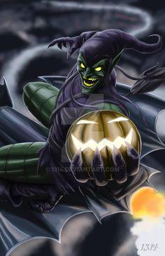 Wing Spidey VS Green Goblin by Shugga on DeviantArt Spiderman, Batman Vs Superman, Marvel Comics Superheroes, Marvel Heroes, Marvel Villains, Marvel Characters, Comic Books Art, Comic Art, Hobgoblin Marvel