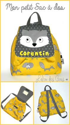 Baby Couture, Gym Bag, Diy And Crafts, Baby Kids, Backpacks, Creative, Pattern, Bags, Handmade