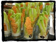 Shrimp Satay Skewer Shooters with Thai Spicy Peanut Sauce Recipe HERE So today is the official start of my Art of Entertainin. Finger Food Appetizers, Best Appetizers, Finger Foods, Appetizer Recipes, Peanut Sauce Recipe, Spicy Peanut Sauce, Salad Shooter, Mini Grilled Cheeses, Jack Benny