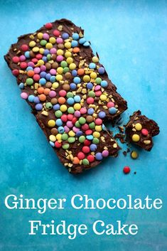 A recipe for chocolate fridge cake with a ginger twist - this ginger chocolate fridge cake is a delicious grown up twist on the kids classic.