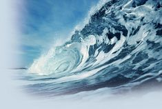 Wave energy is essentially stored, concentrated wind energy, since waves are created by the energy from wind as it blows over the surface of the water.