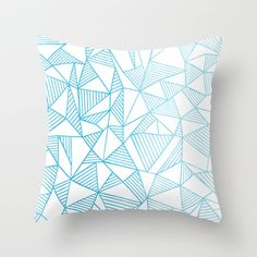 Buy Abstraction Lines Watercolour by Project M as a high quality Throw Pillow. Worldwide shipping available at Society6.com. Just one of millions of…