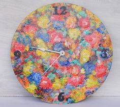 Ah, Spring by Dix Cutler on Etsy Art Walk, Old Things, Shops, Clock, Spring, Etsy, Home Decor, Watch, Tents