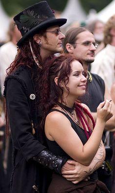 Steve & Jenny (Omnia) @ Castlefest 2008 by Tim Vergeer (Flashbackfoto), via Flickr