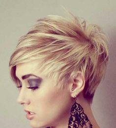 Short Blonde Hairstyle Ideas | 2013 Short Haircut for Women