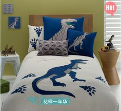 Accessories & furniture,Impressive Boys Bedroom With Dinosaur Pattern Bedding Set Feat Ash Wooden Headboard And Round Wooden Bedside Table Complete With White Wooden Flooring Combine Dinosaur Toys Decor,Cool Boys Dinosaur Room Ideas Dinosaur Bed Set, Boys Dinosaur Bedroom, Dinosaur Bedding, Kids Bedroom, Bedroom Decor, Bedroom Ideas, Dinosaur Toys, Bedroom Storage, Master Bedroom