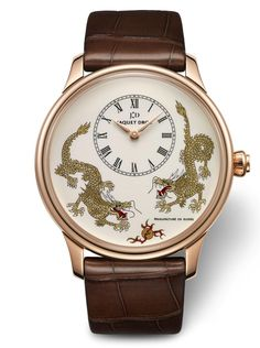 The Jaquet Droz Petite Heure Minute Dragon Watch limited to only 88 pieces Luxurious Magazine
