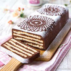 Kids Party Treats, Finnish Recipes, Dessert Recipes, Desserts, Coffee Cake, No Bake Cake, Tiramisu, Food And Drink, Pasta