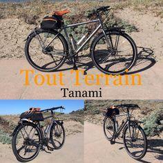 Tout Terrain Tanami Adventure / Touring bike Rohloff hub, Gates belt, Pelago front rack