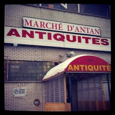 Le marché des antiquités Saint-Michel à Montréal accueille Atelier 739