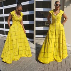 Latest African fashion clothing looks Ideas 6615341721 African Print Dresses, African Print Fashion, Africa Fashion, African Fashion Dresses, African Dress, Fashion Prints, Fashion Outfits, African Clothes, Fashion Styles