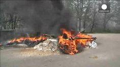 """Al menos cinco milicianos prorrusos muertos en Slaviánsk al comienzo de la """"operación antiterrorista"""" en Ucrania"""