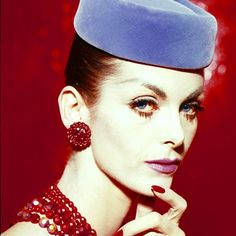 The pillbox hat was something considered small but modern. Which was part of the style of the sixties