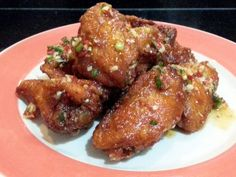 """LG CHINESE BUFFALO WINGS ( THAI SWEET CHILI FLAVOUR )! """"MY VERSION ~  ~ DELICOUS AND EASY ~ INSPIRED BY indonesia friend Nhura Ehany ~  ~ LOVING IT""""  @allthecooks #recipe"""