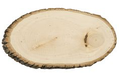 Rustic Round Basswood Tree Slice/Slab - Large ● As Low as $9.99 ● Available from www.cvlinens.com