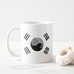 korea korea 한국 national flag 한글 Taegeukgi vintage Coffee Mug - cyo diy customize unique design gift idea
