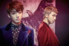 BTS (Bangtan Boys) - Wings Concept Photos - Jungkook and RapMonster