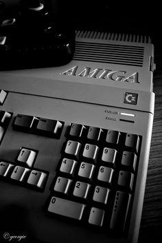 Amiga 500 #retro #1987 #computer