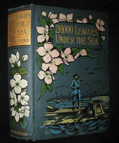1900 Rare Book - Twenty Thousand Leagues Under the Sea by Jules Verne – MFLIBRA - Antique Books