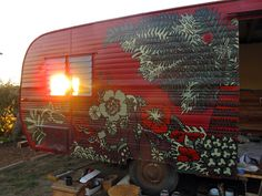trailer mural - Looking at ideas for my own trailer mural.. no limit!