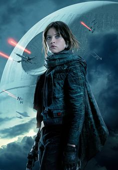 Rogue One: A Star Wars Story poster, t-shirt, mouse pad Rogue One Jyn Erso, Rogue One Star Wars, Star Trek, Star Wars Art, Star Wars Pictures, Star Wars Images, Rougue One, Cuadros Star Wars, Felicity Jones
