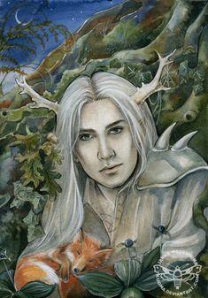 ☆ The Stag Prince :¦: Artist Janna Prosvirina ☆