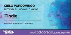 Cielo Pordomingo en entrevista - #CodigoIndie #CodigoCDMX #CDMX #Mexico #Radio #CieloPordomingo #Fugaline #entrevista
