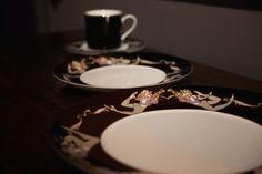 """""""Impromptu""""fine #dinning  #tableware #porcelain #coffeecup #dinnerplate #pastel #colour #platinum #details #artist #kunst #porcelæn #kaffe #elizabethromhild #hjem #bolig #living #lifestyle"""