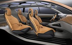 Cross GT leather interior