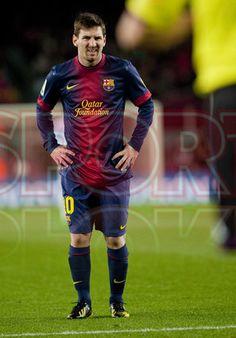 Messi, FC Barcelona   FC Barcelona, 2 - Málaga, 2   Copa del Rey. [16.01.13]