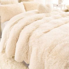 Buy 13 Colors Super Soft Blankets for Beds Shaggy Faux Fur Blanket Ultra Plush Decorative Blanket White Blanket Bedding Sofa Cushion at Home - Design & Decor Shopping Cheap Blankets, Fluffy Blankets, Cute Blankets, Bed Blankets, Crocheted Blankets, Blanket Crochet, Couch Blanket, Faux Fur Blanket, Fuzzy Blanket
