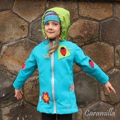 Softshellová delší bunda / kabátek (Střih a fotonávod) | Ekozahrada - Blog Petry Macháčkové / Caramilla