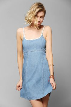 MINKPINK California Dreamin Chambray Sundress - Urban Outfitters