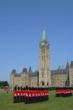 Michela, Redaktionsassistentin, war in #Ottawa, #Kanada.
