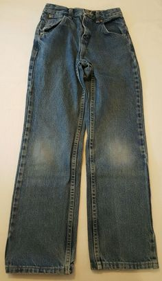 Boys Wrangler Blue Classic/Straight Leg Jeans Size 12 Slim 12S #271 in Clothing, Shoes & Accessories, Kids' Clothing, Shoes & Accs, Boys' Clothing (Sizes 4 & Up) | eBay