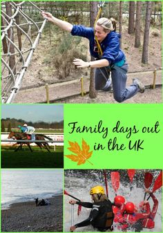 Fun family days out in the UK