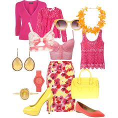 """""""pink"""" by agnesvanliere on Polyvore"""