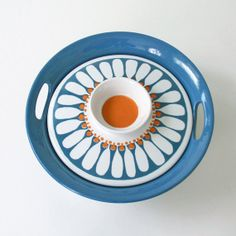 Your place to buy and sell all things handmade Retro Design, Scandinavian Design, Daisy, Conditioner, Pottery, This Or That Questions, Norway, Therapy, Enamel