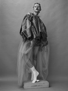 Dress by Emma Hardstaff. Socks by CK.