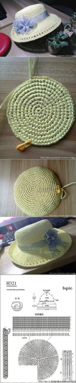 Crochet hat Shop accessories for women at Urban Outfitters today. Bonnet Crochet, Crochet Beanie, Knit Or Crochet, Filet Crochet, Crochet Stitches, Crochet Baby, Knitted Hats, Crochet Patterns, Sombrero A Crochet