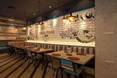 Fish & Co Restaurant by Metaphor Interior at Puri Indah Mall, Jakarta –…