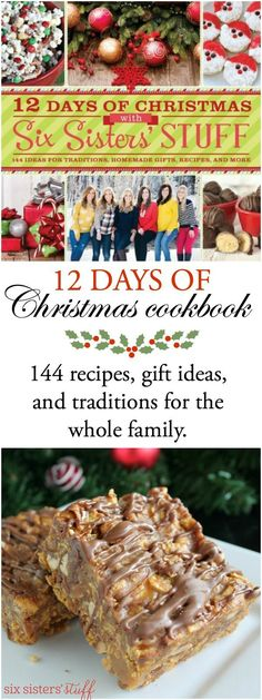 If you love Christmas as much as we do, you'll love 12 Days of Christmas with Six Sisters' Stuff. Inside you'll find idea for home decor, gift giving, traditions, easy dinner recipes, brunch ideas, Christmas desserts, and so much more!