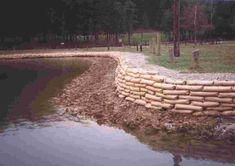 Bildresultat för Concrete Sack Retaining Wall