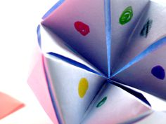 Every child made these. See we all knew a little origami and this game was addictive.